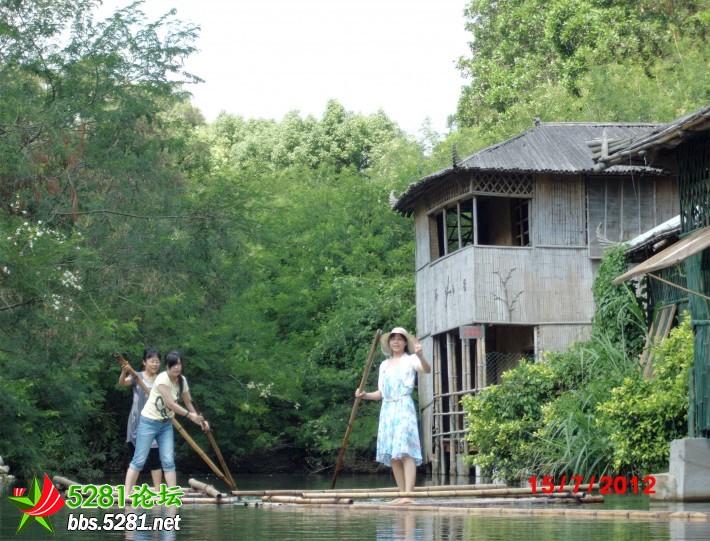 深圳龙岗园山风景区溪谷一日游