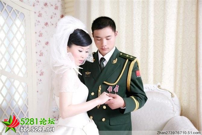 有关军婚的唯美照片_2013年4月婚纱照欣赏Wed114结婚网