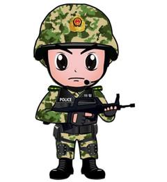 q版的男兵女兵