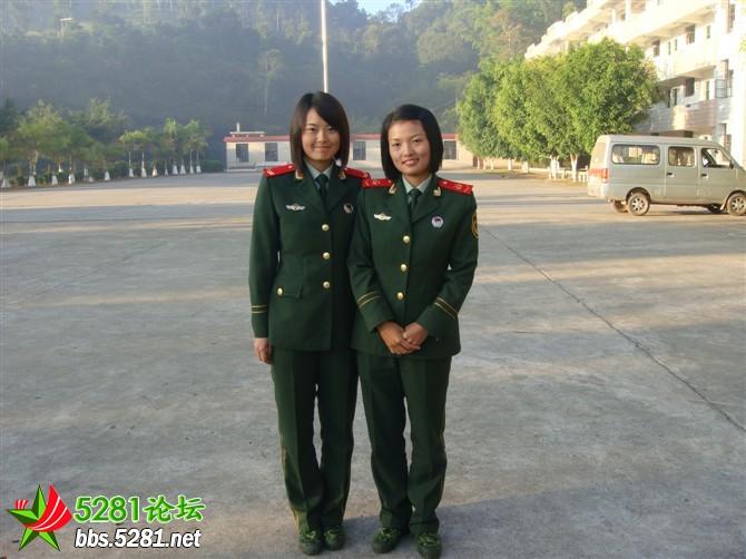 武警女兵真实图片_绝对真实解放军魅力女兵组图