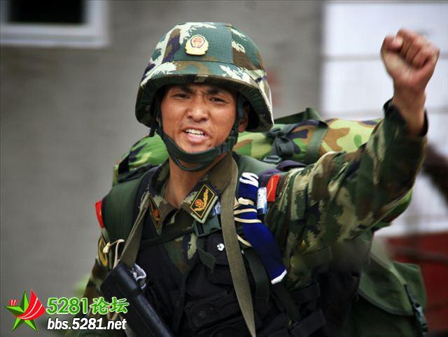 武警722特种部队图片