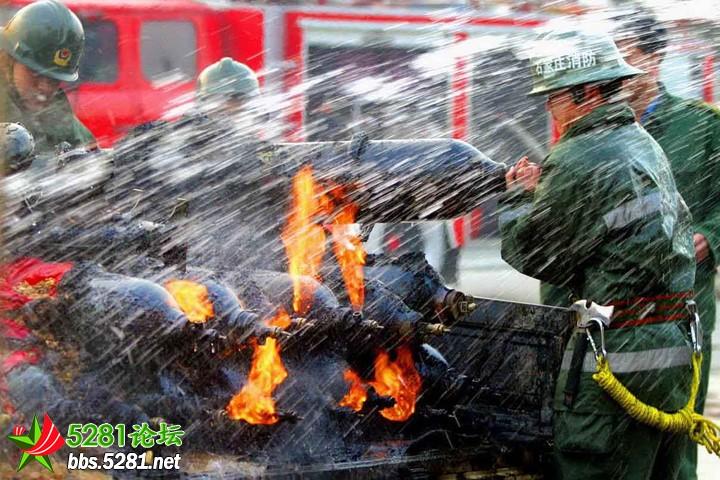 [综合] 因为我是一名消防兵!消防图片展 (转自人人)