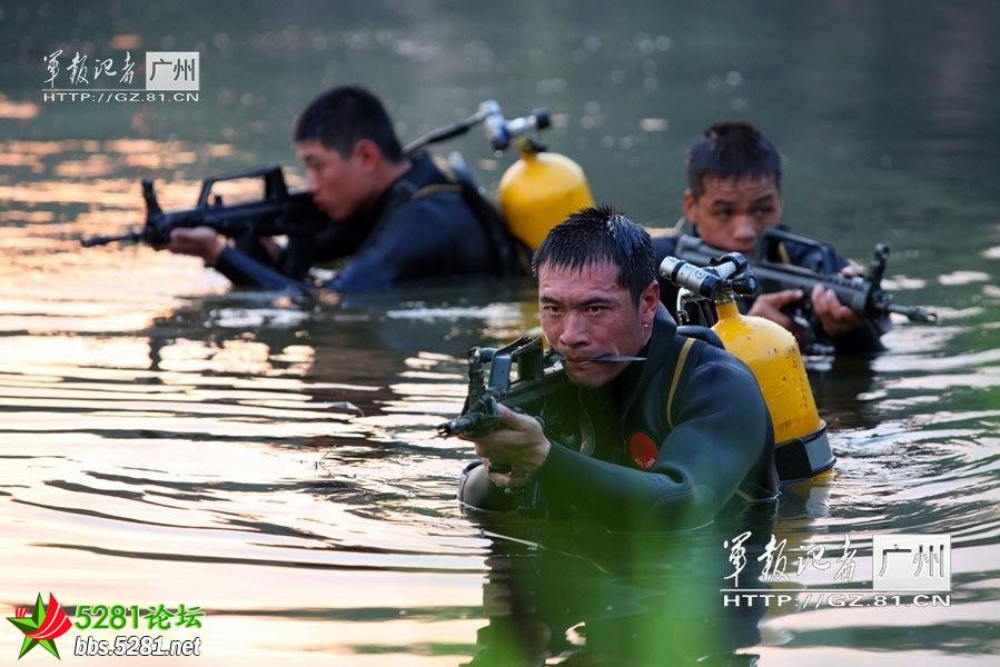 广州军区 南国利剑 特种部队曝光