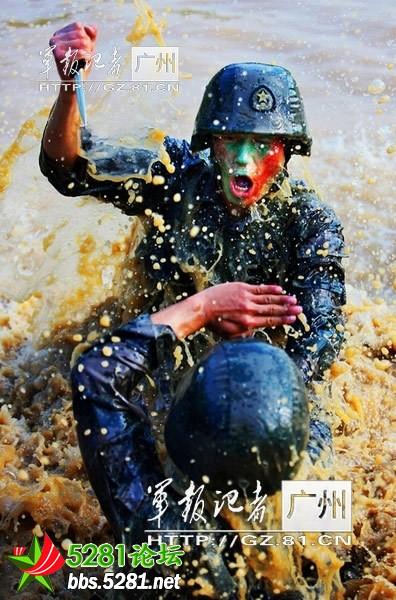清 广州军区 南国利剑 特种部队曝光