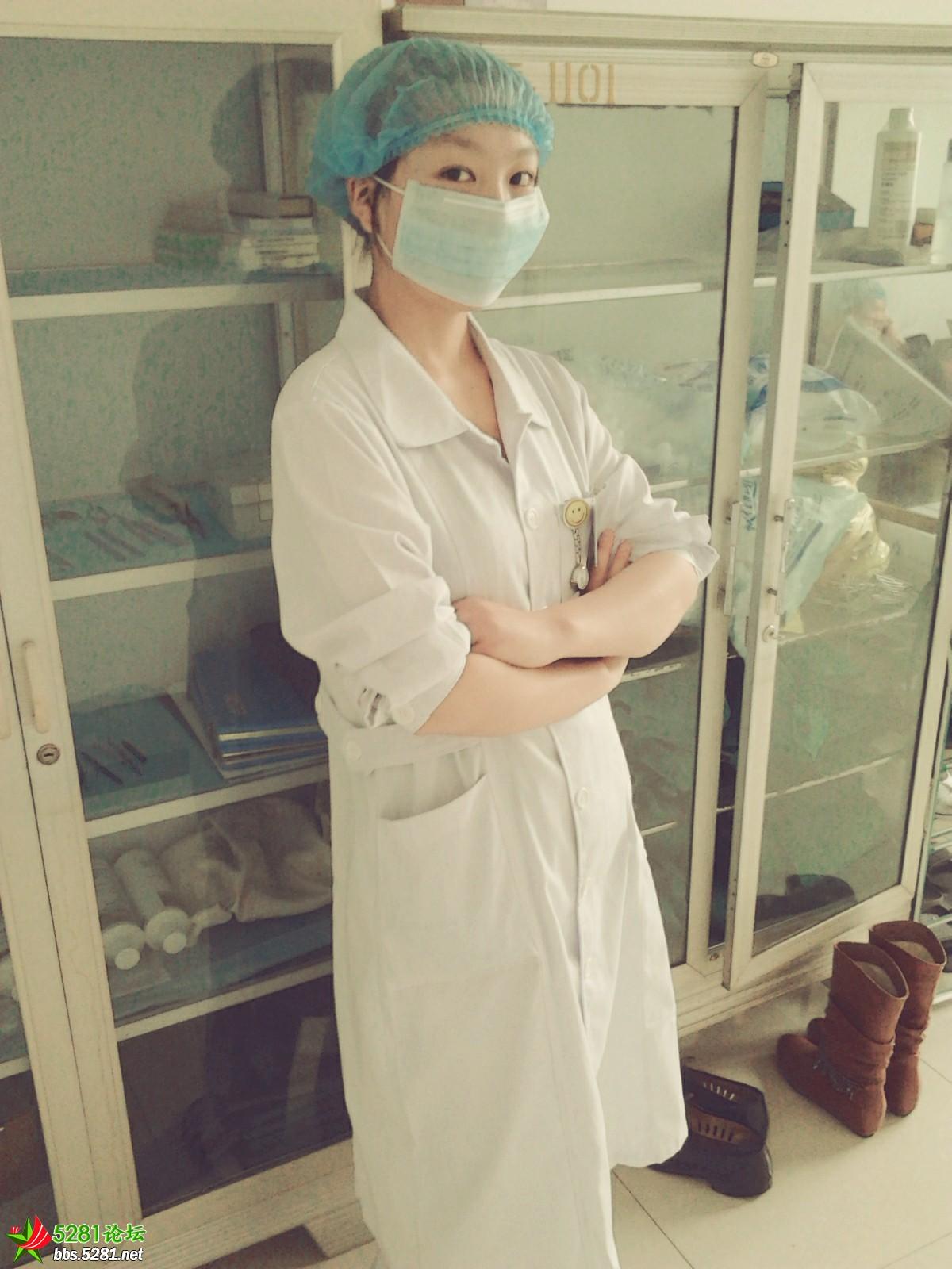 在眼科实习时,手术室外面,器械消毒