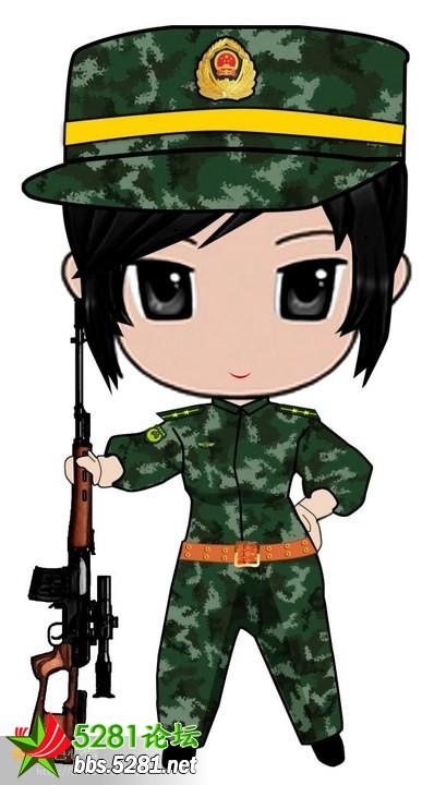 军人敬礼图片军人卡通图片大全军人敬礼卡通图