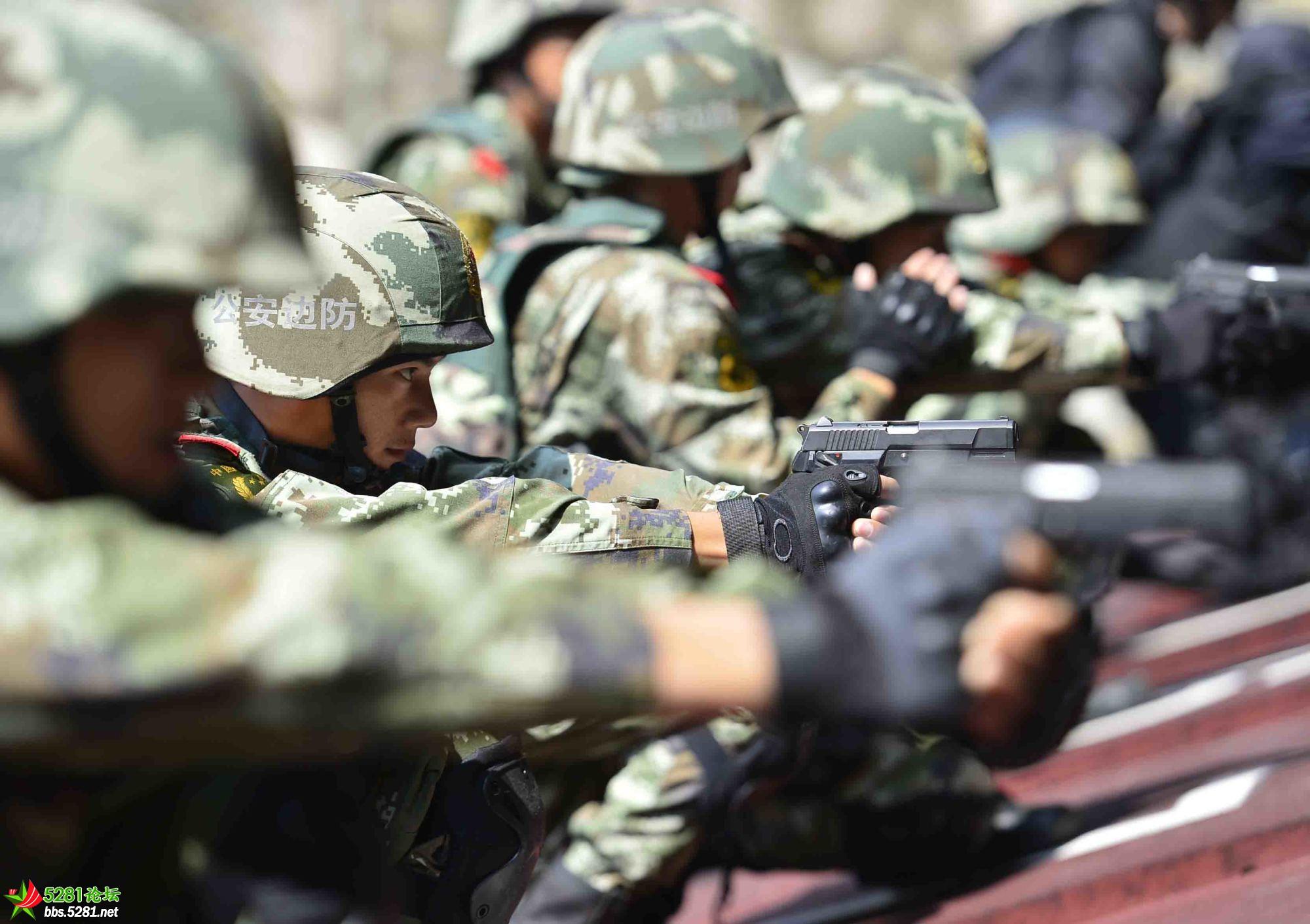 军警集训对抗 锤炼实战硬功【高清无水印】