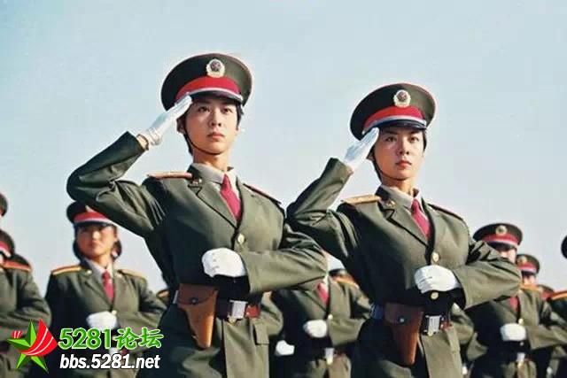 阅兵式上最美的女兵!一定是中国