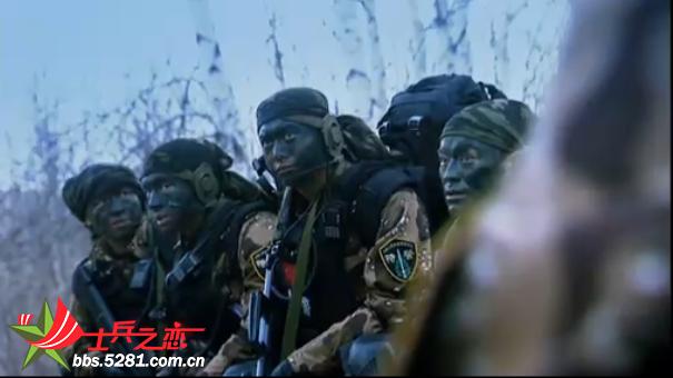 722特种部队协拍《中国特警》