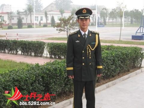 武警中尉常服 07陆军中尉夏常服 07式中尉军官常服图图片