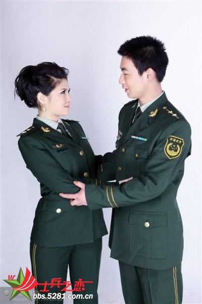 军装礼服婚纱照_韩版婚纱照_婚纱照有哪些风格_李易 -中国上海少女