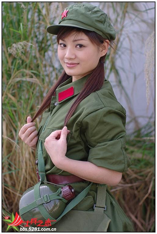 真正的军中绿花哦 美丽女兵! 军人风采贴图